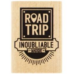Tampon bois - Road Trip -...