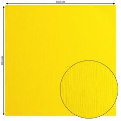 Papier uni 'Lemon Yellow'...