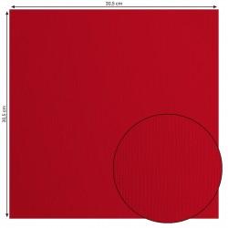 Papier uni 'Poppy' (rouge)...
