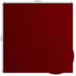 Papier uni 'Ruby' (rouge...