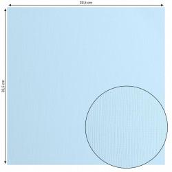 Papier uni 'Glacier' (bleu...