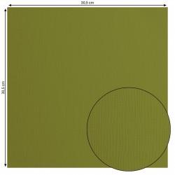 Papier uni 'Olive' (vert)...