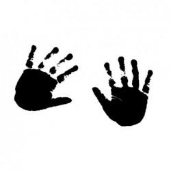 Tampon bois - Les mains de...