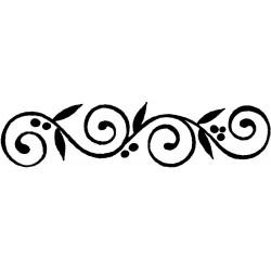 Tampon bois - Spirale...