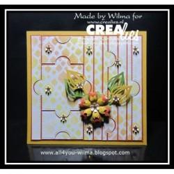 Pochette Origami Color Rose 12 x 12 cm - 20 feuilles - Avenue Mandarine