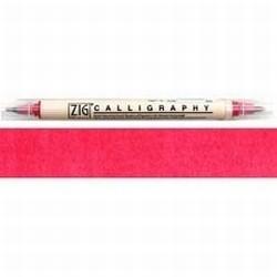 Zig feutre calligraphie rose
