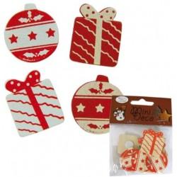 Noël - 12 boules et cadeaux...