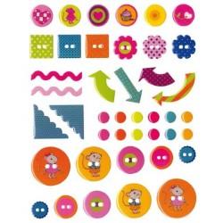 Embellissements - Stickers...