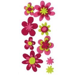 Embellissements - Fleurs en...